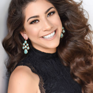 Kianoosh Jafari MISS CACTUS BLOSSOM TEEN USA